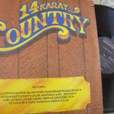 Discos de vinilo: WILLIE NELSON, WAYLON JENNINGS, RONNIE MILSAP, RAZZY BAYLEY -LP 1984-USA -BUEN ESTADO. Lote 53438958