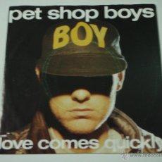 Vinyl records - PET SHOP BOYS ( LOVE COMES QUICKLY - THAT'S MY IMPRESSION ) 1986 - HOLANDA SINGLE45 PARLOPHONE - 53442627