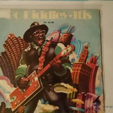 Disques de vinyle: BO DIDDLEY - BO DIDDLEY-ITIS / INFATUATION (1973). Lote 53448199