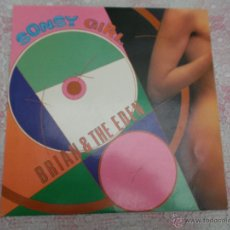 Discos de vinilo: BRIAN & THE EDEN - SONSY GRIL - BLANCO Y NEGRO 1985 - ITALO. Lote 53449109