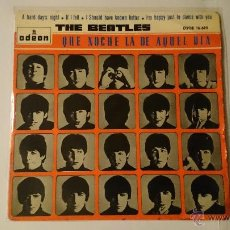 Discos de vinilo: THE BEATLES - A HARD DAY'S NIGHT / IF I FEEL / I SHOULD HAVE KNOWN BETTER + 1 (EP 1964). Lote 53454077