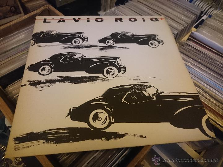L'AVIO ROIG COCHES NEGROS EMPIEZA POR AHI 12 PULGADAS MAXI VINILO CITRA PRODUCCIONES CTR020 (Música - Discos de Vinilo - Maxi Singles - Grupos Españoles de los 70 y 80)