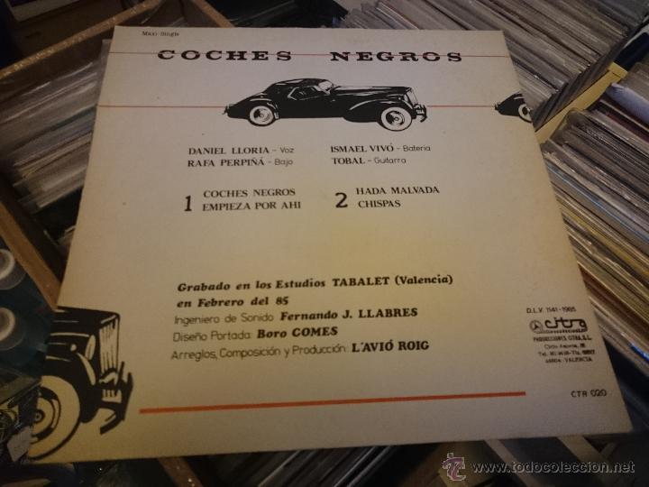 Discos de vinilo: L'avio roig coches negros Empieza por ahi 12 pulgadas Maxi vinilo Citra producciones CTR020 - Foto 4 - 53460958