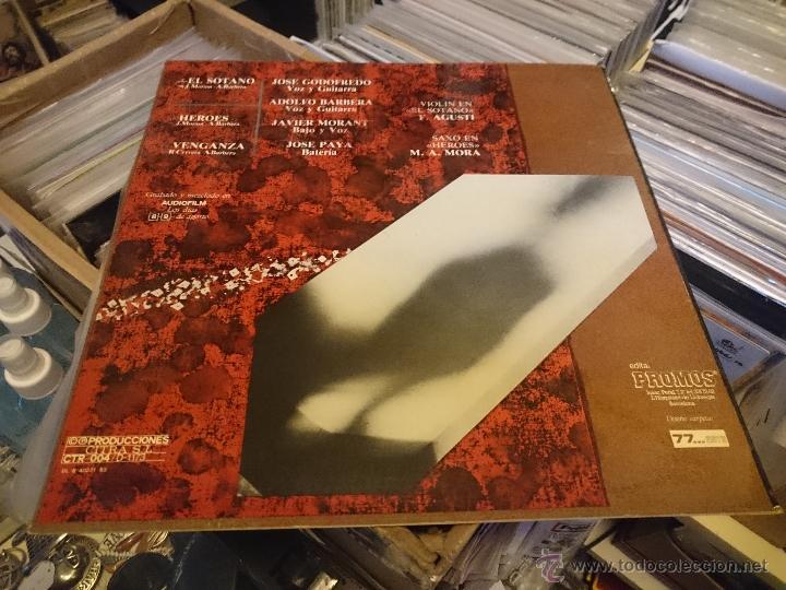 Discos de vinilo: Ceremonia El Sotano Heroes 45rpm Maxi disco de vinilo Producciones citra - Foto 2 - 53461021
