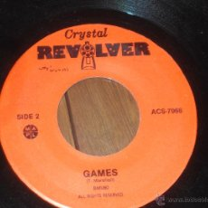 Discos de vinilo: CRYSTAL REVOLVER T. MARSHALL SINGLE TWILIGHT IN CAIRO + GAME MADE IN CANADIAN. 1983 PROMOTION. Lote 53461286