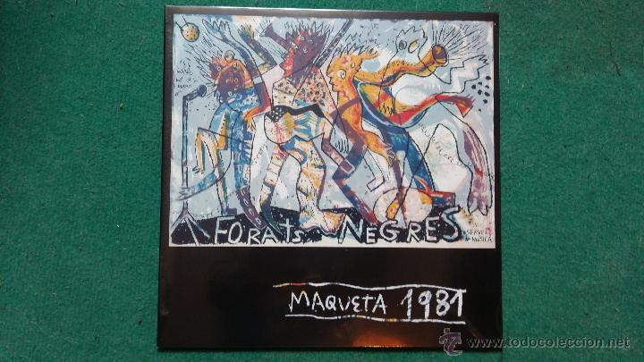 Discos de vinilo: FORATS NEGRES - MAQUETA 1981 (Furnish Time , Miquel Barceló..) vinilo color blanco - Foto 1 - 98940810