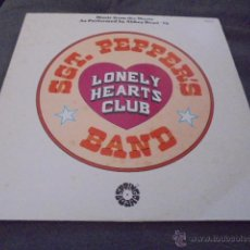 Discos de vinilo: ABBEY ROAD '78 --- SGT. PEPPERS LONELY HEARTS CLUB BAND . Lote 53462818