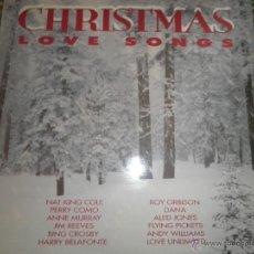 Discos de vinilo: CHRISTMAS LOVE SONGS DOBLE LP - VARIOS ARTISTAS - ARCADE RECORDS 1991 - MUY NUEVO (5). ED. INGLESA -. Lote 53466381