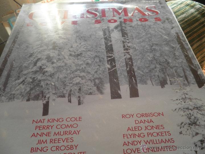 Discos de vinilo: CHRISTMAS LOVE SONGS DOBLE LP - VARIOS ARTISTAS - ARCADE RECORDS 1991 - MUY NUEVO (5). ED. INGLESA - - Foto 10 - 53466381