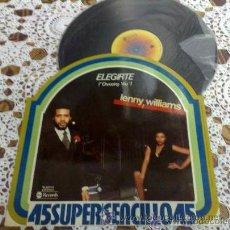 Discos de vinilo: AÑO 1978. LENNY WILLIAMS .---- ELEGIRTE. Lote 28149867