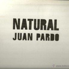 Disques de vinyle: JUAN PARDO LP DOBLE TROQUELADA SELLO ERIKA AÑO 1972 EDITADO EN ESPAÑA PROMOCIONAL. Lote 53468673