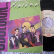 Discos de vinilo: PLATINO-SINGLE OBSESION 1983. Lote 53470239