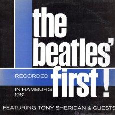 Discos de vinilo: THE BEATLES FIRST. CONCIERTO HAMBURGO 1961. VINILO. Lote 53473390