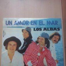 Discos de vinilo: LOS ALBAS- UN AMOR EN EL MAR- LP BELTER 1975. Lote 53476255