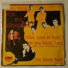 Discos de vinilo: BILL DEAL AND THE RHONDELS - WHAT KIND OF FOOL DO YOU THINK I AM - I'VE BEEN HURT (1969). Lote 53476601