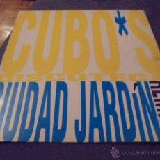 Discos de vinilo: CIUDAD JARDIN --- CUBO'S DISCOTECA // PROMOCIONAL. Lote 53476650