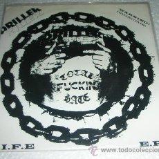 Discos de vinilo: DRILLER KILLER – L.I.F.E E.P - 1995 - PUNK HARDCORE. Lote 53477987