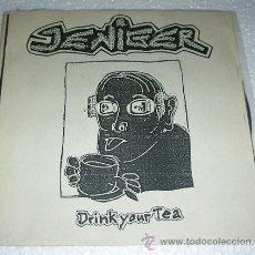 Discos de vinilo: JENIGER - DRINK YOUR TEA - EP 7 TEMAS - GRINDCORE. Lote 53478004