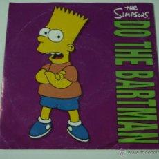 Discos de vinilo: THE SIMPSONS ( DO THE BARTMAN 2 VERSIONES ) 1990 EU SINGLE45 GEFFEN RECORDS. Lote 53479841