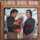 Discos de vinilo: LP - LOS DEL RIO - SEVILLANAS, RUMBAS, TANGUILLOS Y VALS (SPAIN, DISCOPHON 1974). Lote 53485223