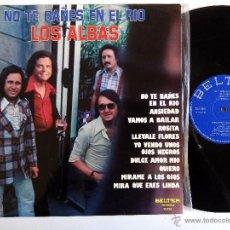Discos de vinilo: LOS ALBAS. NO TE BAÑES EN EL RÍO. LP BELTER 23.158. ESPAÑA 1976. BARCELONA.. Lote 53485425
