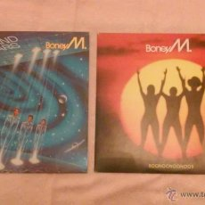 Dischi in vinile: BONEY M BOONOONOONOOS / TEN THOUSAND LIGHTYEARS LOTE 2 LPS ANOS 1981 Y 1984. Lote 53488915