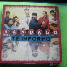 Discos de vinilo: SANDALO - TE INFORMO - MX - ARIOLA 1993 SPAIN. Lote 53489291