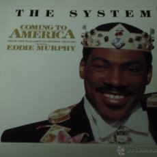 Discos de vinilo: THE SYSTEM ( COMING TO AMERICA 3 VERSIONES ) 1988 - GERMANY MAXI45 ATCO. Lote 53491836