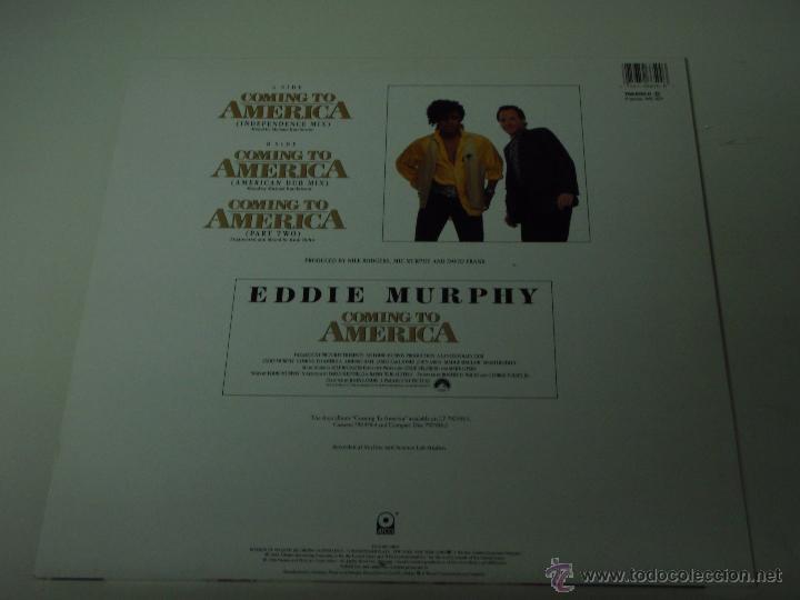 Discos de vinilo: THE SYSTEM ( COMING TO AMERICA 3 VERSIONES ) 1988 - GERMANY MAXI45 ATCO - Foto 2 - 53491836