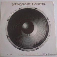 Discos de vinilo: KINGDOM COME IN YOUR FACE. Lote 53493239