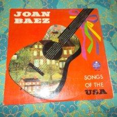 Discos de vinilo: JOAN BAEZ SONGS OF THE USA. Lote 53493532