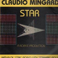 Discos de vinilo: CLAUDIO MINGARDI ..MAXI SINGLE. Lote 53494616