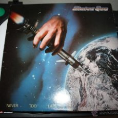 Discos de vinilo: STATUS QUO - NEVER TOO LATE - VERTIGO 6302 104, 1981- PORTADA VG+, DISCO MINT-, PRIMERA EDICIÓN UK. Lote 53496843