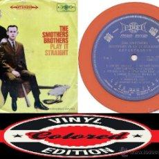 Discos de vinilo: SMOTHERS BROTHERS – PLAY IT STRAIGHT 1968 !! RARA EDIC ORG TAIWAN, VINILO COLOR NARANJA !!, EXC. Lote 53496324