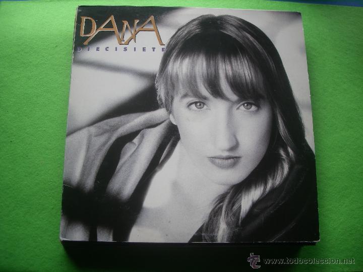 DANA - DIECISIETE - LP - CBS / SONY 1991 SPAIN - CON LETRAS (Música - Discos - LP Vinilo - Solistas Españoles de los 70 a la actualidad)