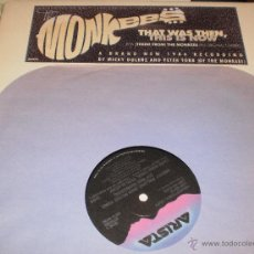 Discos de vinilo: THE MONKEES MAXI PROMOCIONAL THAT WAS THEN, THIS IS NOW. U.S.A.1986. Lote 53501863