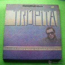 Discos de vinilo: TRUPITA INTENTANDO SE / ESTA NOCHE NO QUIERO DESCOLGAR / NO TENGO MIEDO A LA CIRUGIA MAXI. Lote 53502068