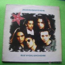 Discos de vinilo: MOSQUITOS, REVOLUCION. LP CON ENCARTE DE LETRAS DE LAS CANCIONES. Lote 53502550
