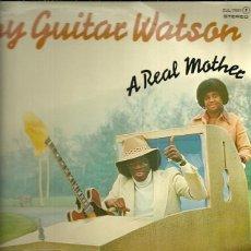 Discos de vinilo: JOHNNY GUITAR WATSON LP SELLO DJM RECORDS AÑO 1977 EDITADO EN ESPAÑA PROMOCIONAL. Lote 53502867