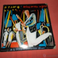 Discos de vinilo: STING BRING ON THE NIGHT. Lote 53509814