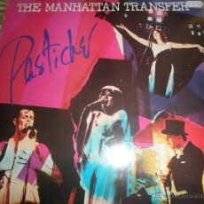 Discos de vinilo: THE MANHATTAN TRANSFER - PASTICHE LP - ORIGINAL INGLES - ATLANTIC 1978 CON FUNDA INT. ORIGINAL -. Lote 161149056