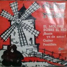 Discos de vinilo: DUBE Y SU CONJUNTO RELAX. EL MOLINO SOBRE EL RÍO/ BASTA YA DE/ GUITAR/ POSTILLON. SAEF, ESP. 1965 EP. Lote 53516516