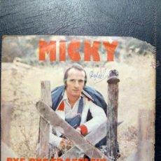 Discos de vinilo: SINGLE MICKY - BYE, BYE FRAEULEIN - BRUJA POR AMOR - ARIOLA 1975.. Lote 53517380