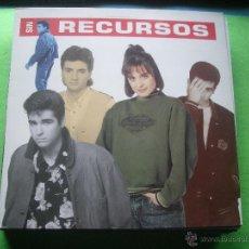 Discos de vinilo: SIN RECURSOS - SIN RECURSOS . LP . 1989 EMI. Lote 53518868