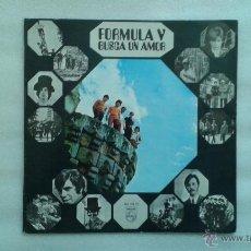 Discos de vinilo: FORMULA V - BUSCA UN AMOR LP 1969. Lote 147240954