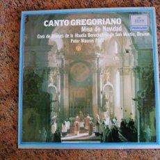 Discos de vinilo: CANTO GREGORIANO - MISA DE NAVIDAD / ARCHIV PRODUKTION. Lote 53530508