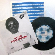 Discos de vinilo: STEVIE WONDER - DO I DO - SINGLE MOTOWN 1982 JAPAN BPY. Lote 53530593