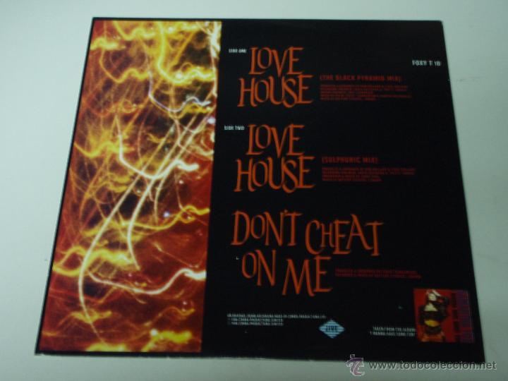 Discos de vinilo: SAMANTHA FOX ( LOVE HOUSE 2 VERSIONES - DONT CHEAT ON ME ) ENGLAND-1988 MAXI45 JIVE RECORD - Foto 2 - 53530674