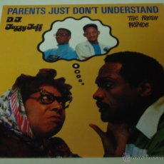 Discos de vinilo: DJ JAZZY JEFF & THE FRESH PRINCE ( PARENT'S JUST DON'T UNDERSTAND 2 VERSIONES - LIVE AT UNION SQU. Lote 53531312