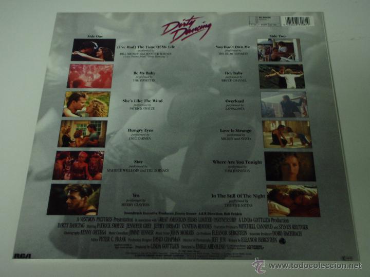 Discos de vinilo: DIRTY DANCING ( VARIOS RELACIONADOS EN LAS FOTOS ) 1987 - GERMANY LP33 RCA - Foto 2 - 97261064